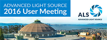 Advanced Light Source 2016 User Meeting