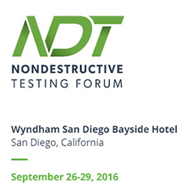 Non Destructive Testing Forum 2016