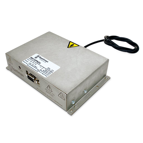 SpellmanHV high performance MX10 DC-DC converter ideal for Mass Spectrometry