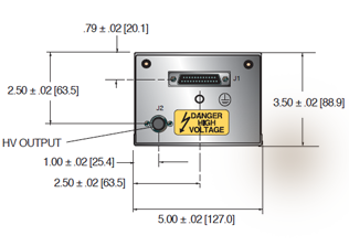 CZE2000 Auto-Reversing High Voltage Power Supply (Image 1)
