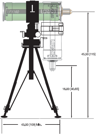 LPX1620 Tubehead Stand For Industrial NDT (Image 4)