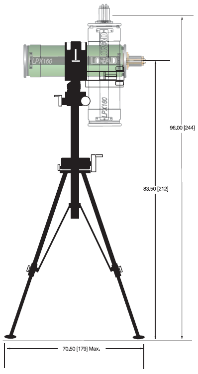 LPX1620 Tubehead Stand For Industrial NDT (Image 5)