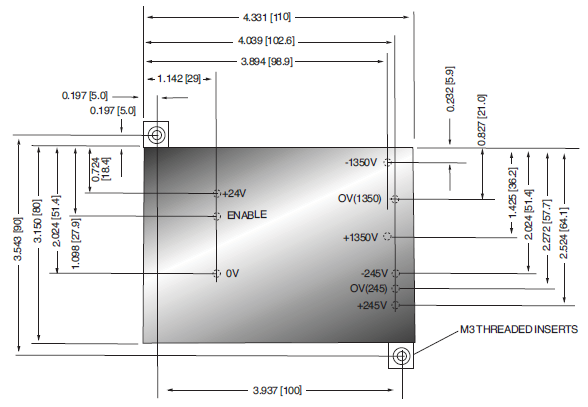ML1350 Mass Spectrometry High Voltage Power Supply